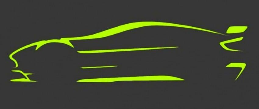 Aston Martin Vantage Gt8 Teased Via Silhouette Sketch