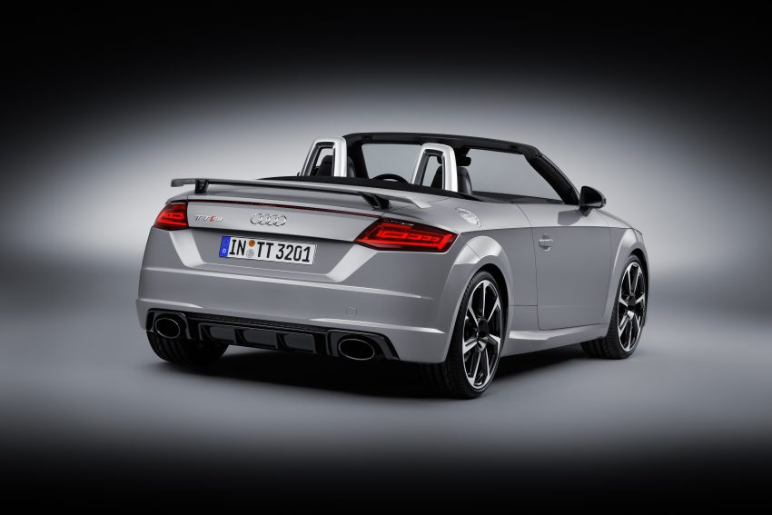 2016 Audi TT RS Coupe, Roadster debut with 400 hp Image #482861