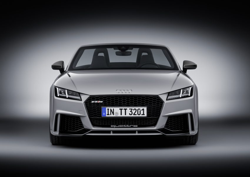 2016 Audi TT RS Coupe, Roadster debut with 400 hp Image #482865