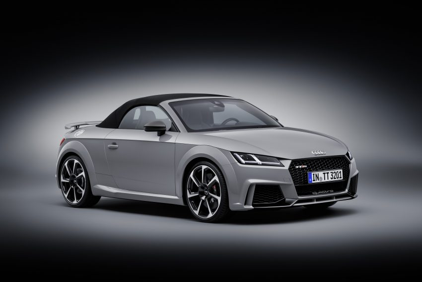 2016 Audi TT RS Coupe, Roadster debut with 400 hp Image #482867