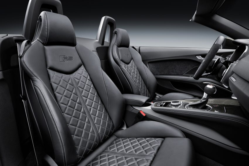 2016 Audi TT RS Coupe, Roadster debut with 400 hp Image #482852
