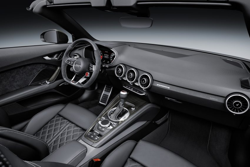 2016 Audi TT RS Coupe, Roadster debut with 400 hp Image #482856