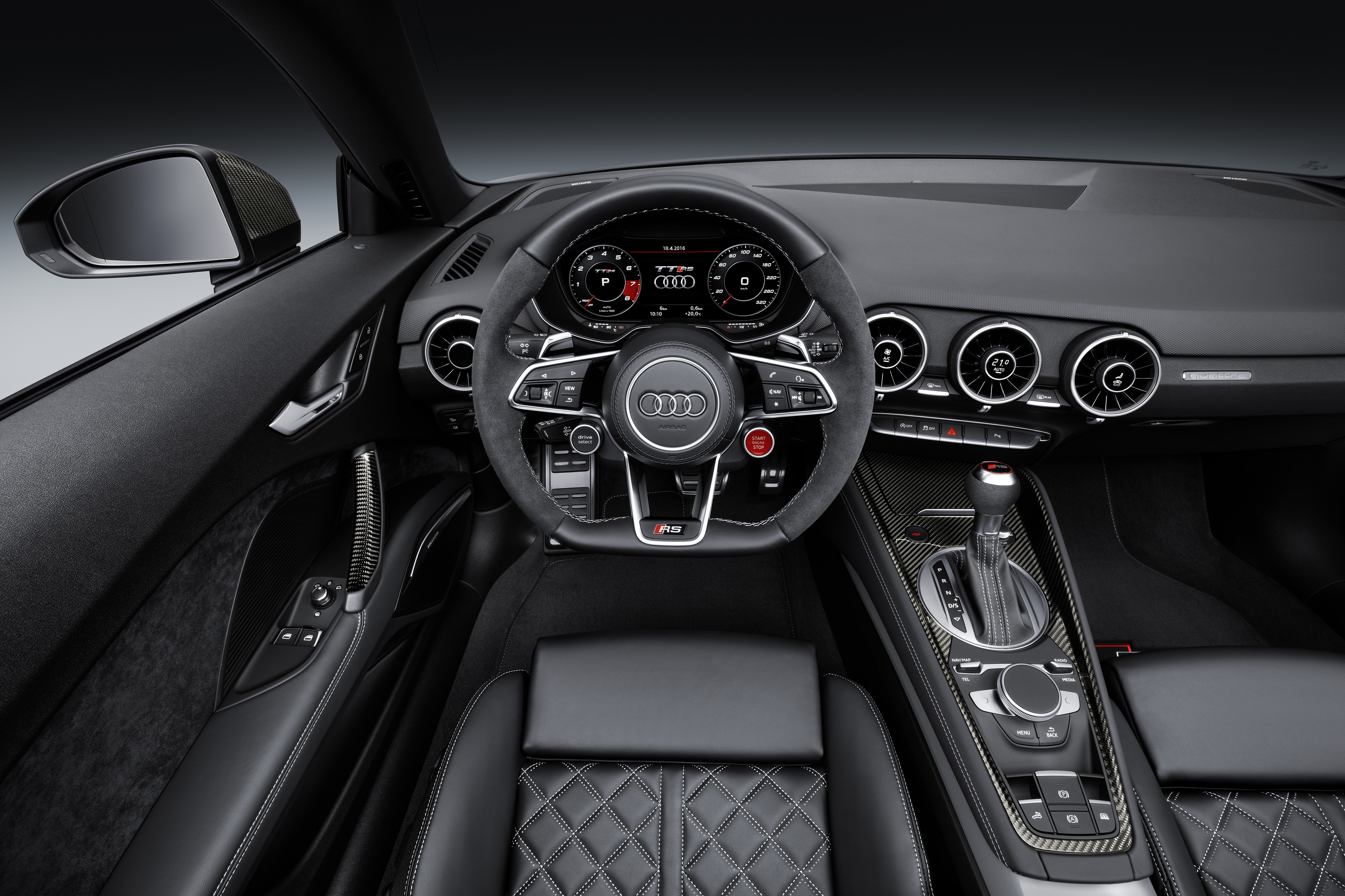 2016 Audi Tt Rs Coupe Roadster Debut With 400 Hp Image 482858