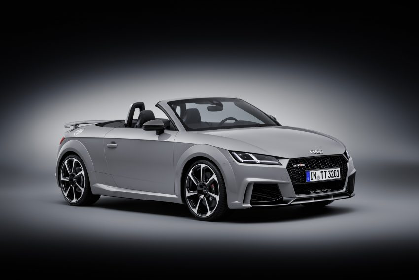 2016 Audi TT RS Coupe, Roadster debut with 400 hp Image #482859
