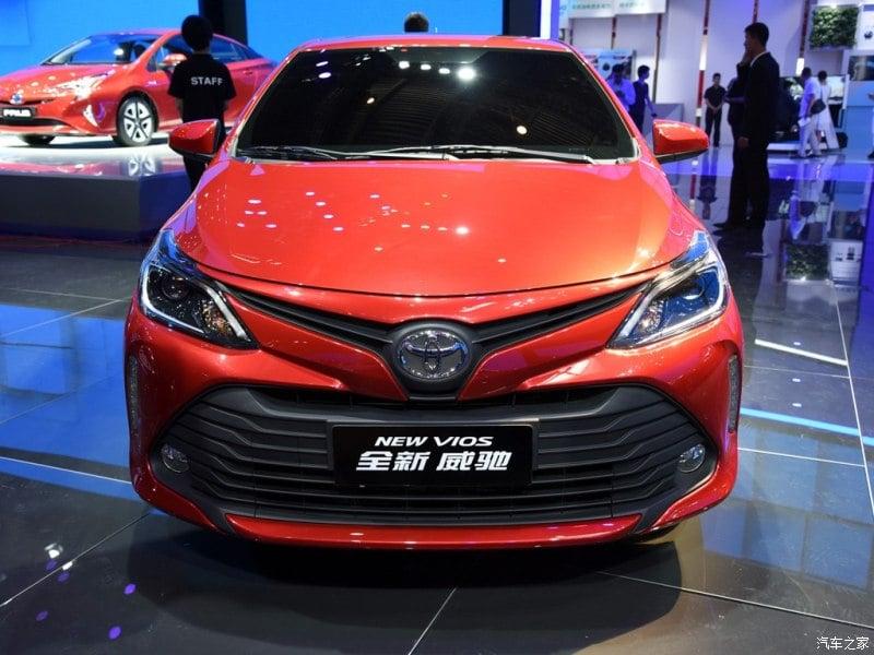 Toyota Vios 2016 facelift diperkenalkan di China Image #483981