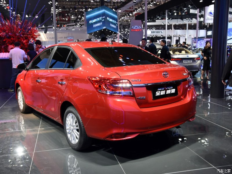 2016 Toyota Vios facelift unveiled in China; new looks Image #483916