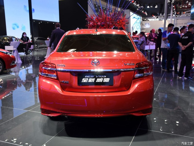 2016 Toyota Vios facelift unveiled in China; new looks Image #483912