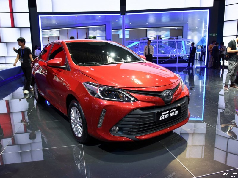 2016 Toyota Vios facelift unveiled in China; new looks Image #483907