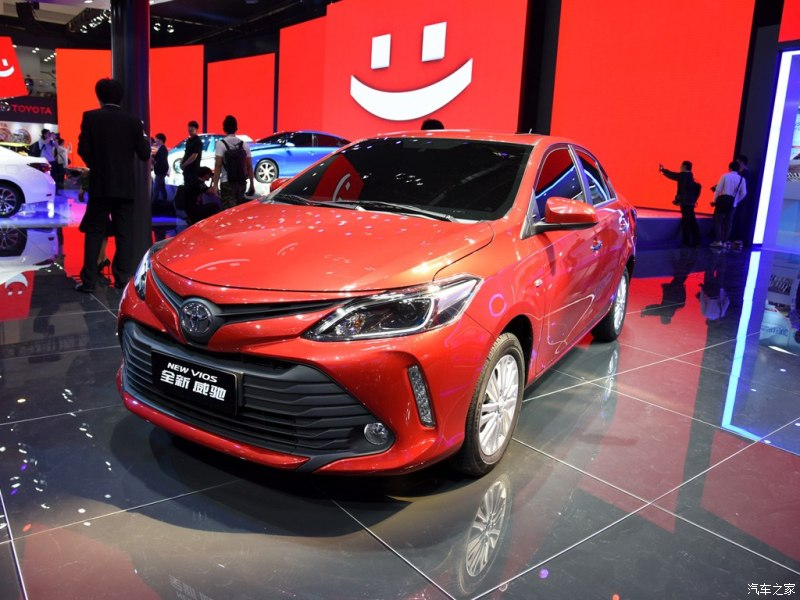 2016 Toyota Vios facelift unveiled in China; new looks Image #483908