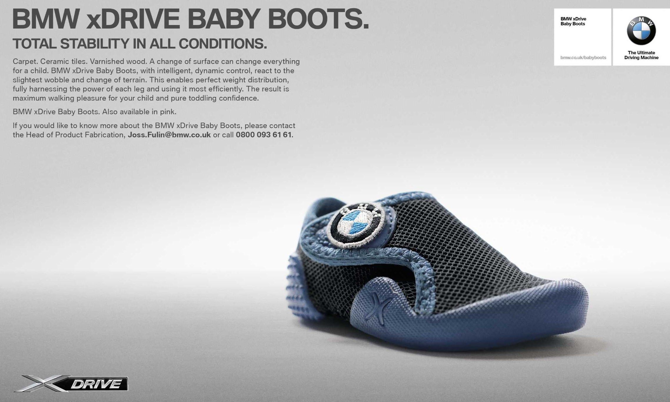 Bmw Xdrive Baby Boots Total Stability Is Child S Play Paul Tan Image 470502