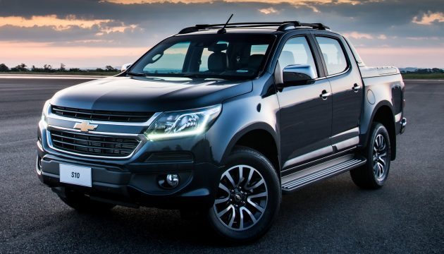 Colorado Tax Calculator >> Chevrolet Colorado facelift debuts as the S10 in Brazil