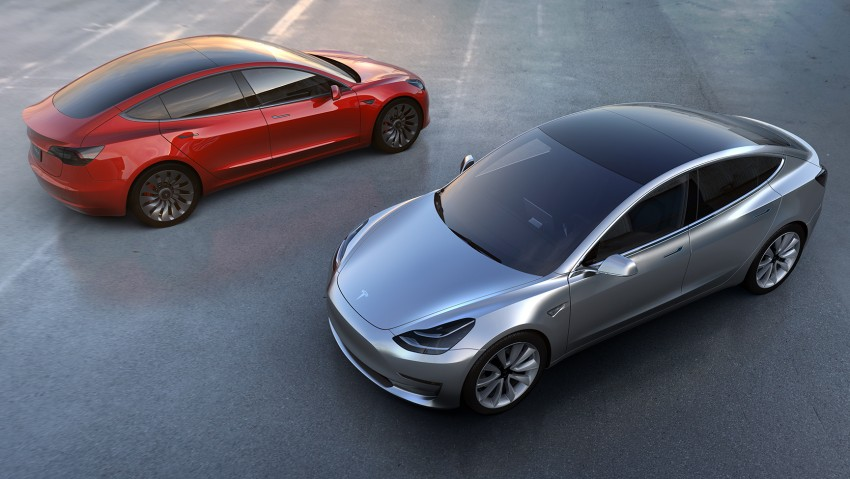 Tesla Model 3 unveiled – the most affordable Tesla yet Image #470354