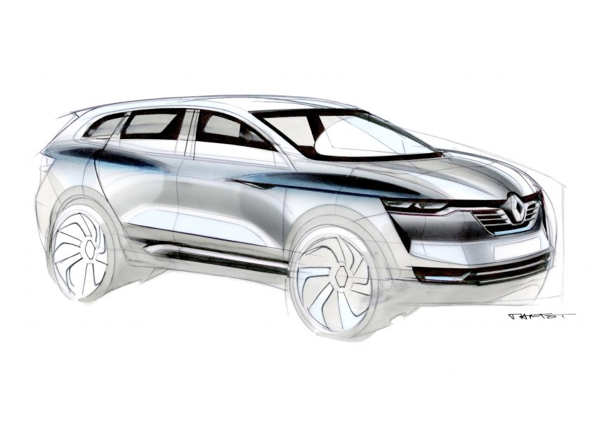2016 Renault Koleos makes its world debut in Beijing Image #483314