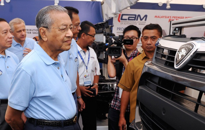 Tun Mahathir not to blame for Proton's woes – PEDA Image #472017
