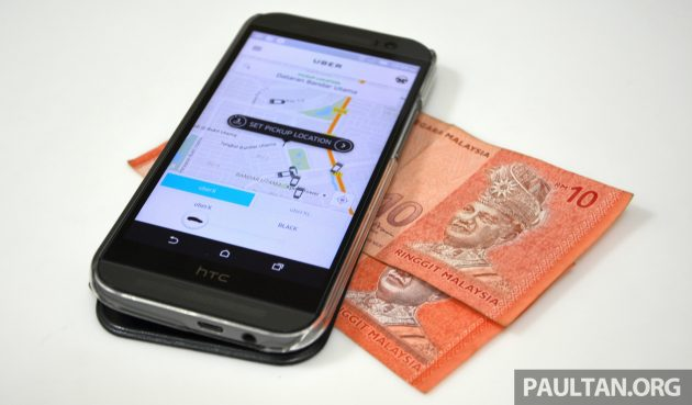 uber cash payment