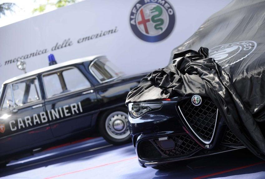 Alfa Romeo Giulia Quadrifoglio joins Italian Carabinieri Image #489056