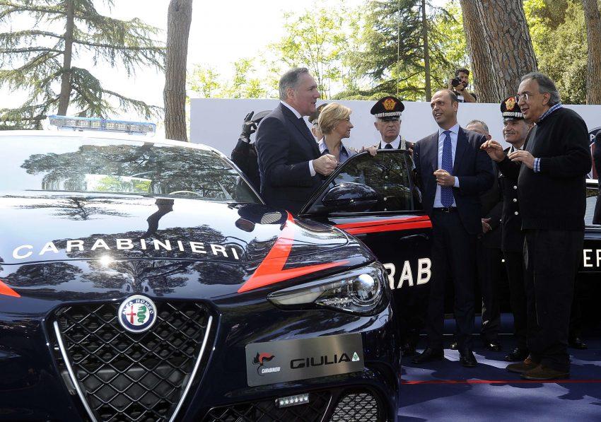 Alfa Romeo Giulia Quadrifoglio joins Italian Carabinieri Image #489058