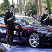 Consegna di nuovi modelli Alfa Romeo all'Arma dei Carabinieri