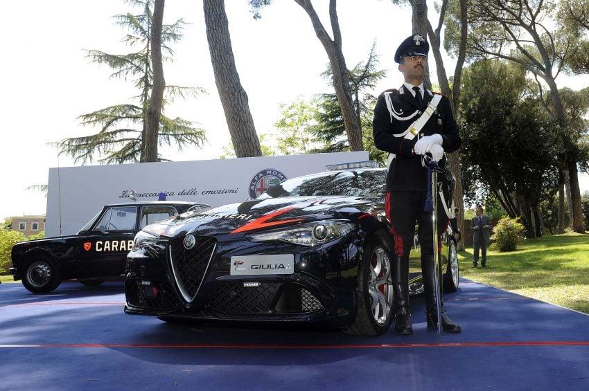 Alfa Romeo Giulia Quadrifoglio joins Italian Carabinieri Image #489060