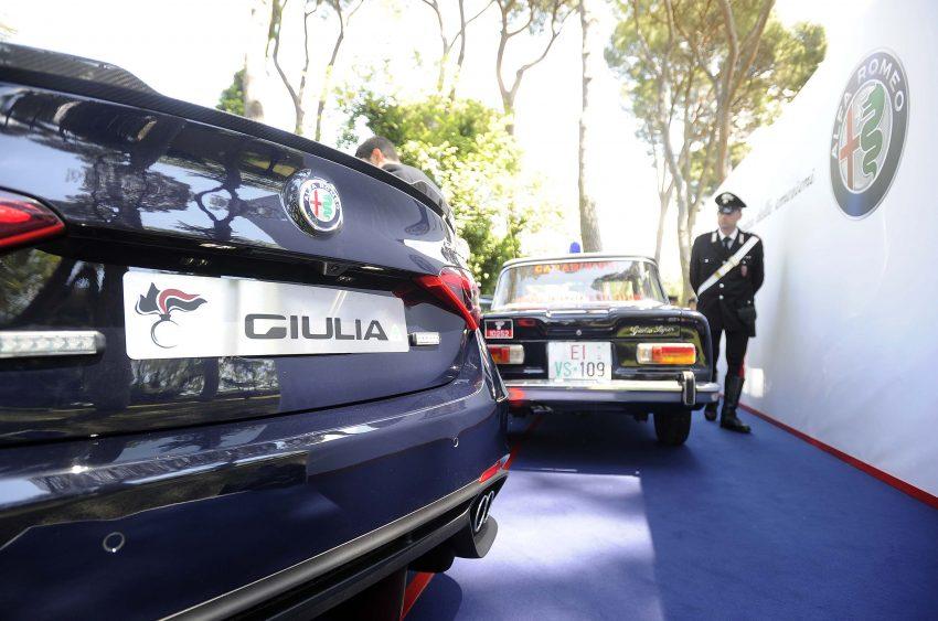 Alfa Romeo Giulia Quadrifoglio joins Italian Carabinieri Image #489061