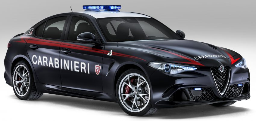 Alfa Romeo Giulia Quadrifoglio joins Italian Carabinieri Image #489042