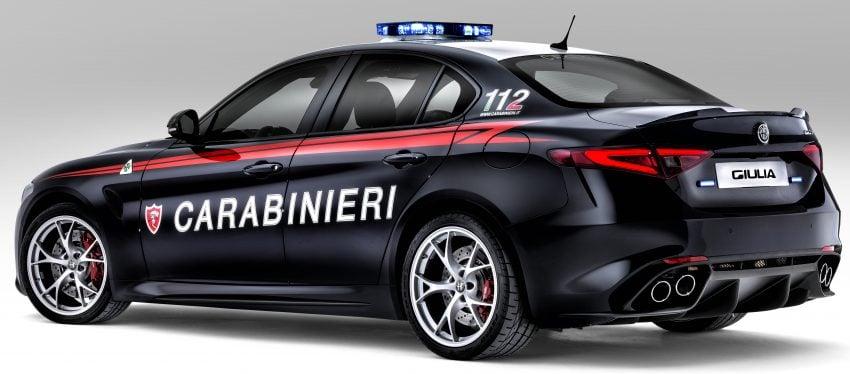 Alfa Romeo Giulia Quadrifoglio joins Italian Carabinieri Image #489046
