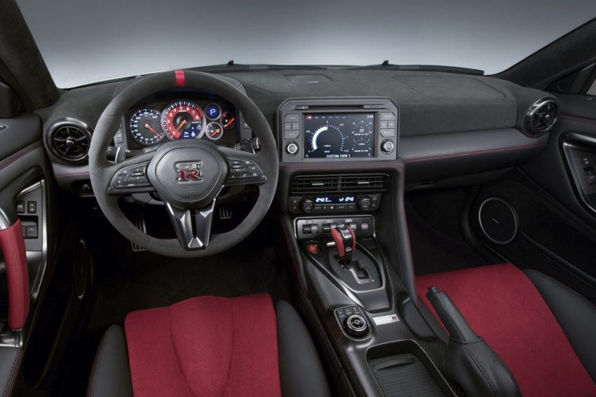 Nissan GT-R Nismo facelift: improved looks, handling Image #499974