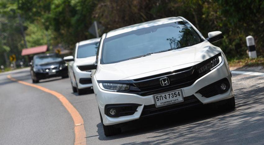 DRIVEN: 2016 FC Honda Civic 1.8L, 1.5L VTEC Turbo Image #492285