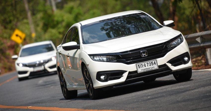 DRIVEN: 2016 FC Honda Civic 1.8L, 1.5L VTEC Turbo Image #492297