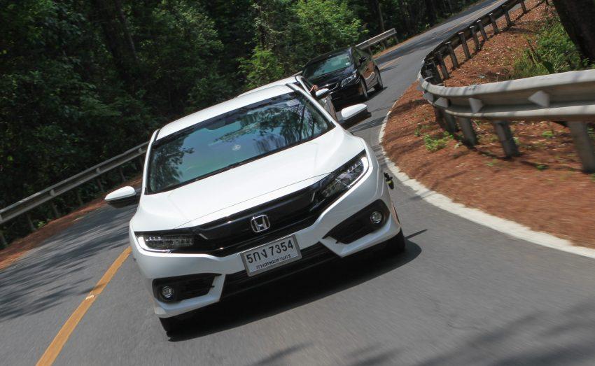 DRIVEN: 2016 FC Honda Civic 1.8L, 1.5L VTEC Turbo Image #492321