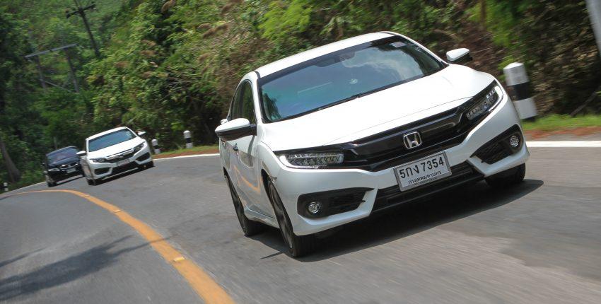 DRIVEN: 2016 FC Honda Civic 1.8L, 1.5L VTEC Turbo Image #492322