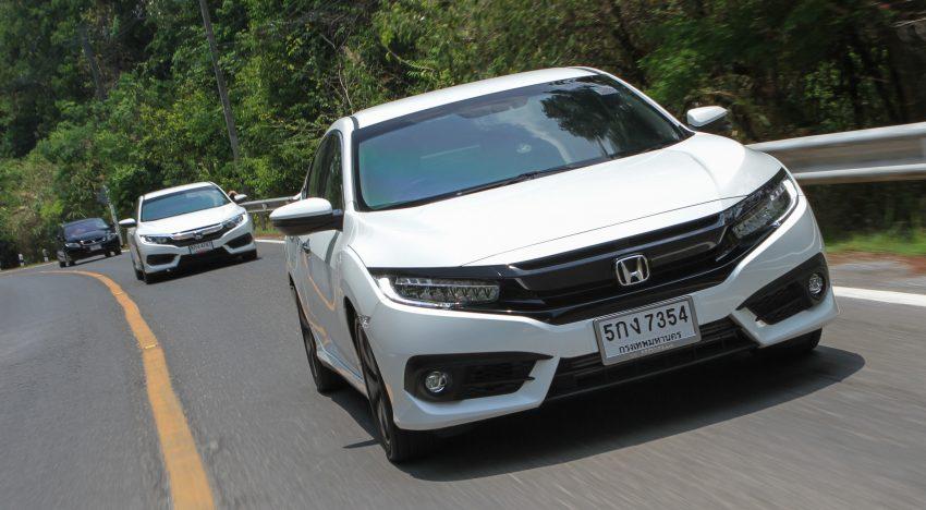 DRIVEN: 2016 FC Honda Civic 1.8L, 1.5L VTEC Turbo Image #492326