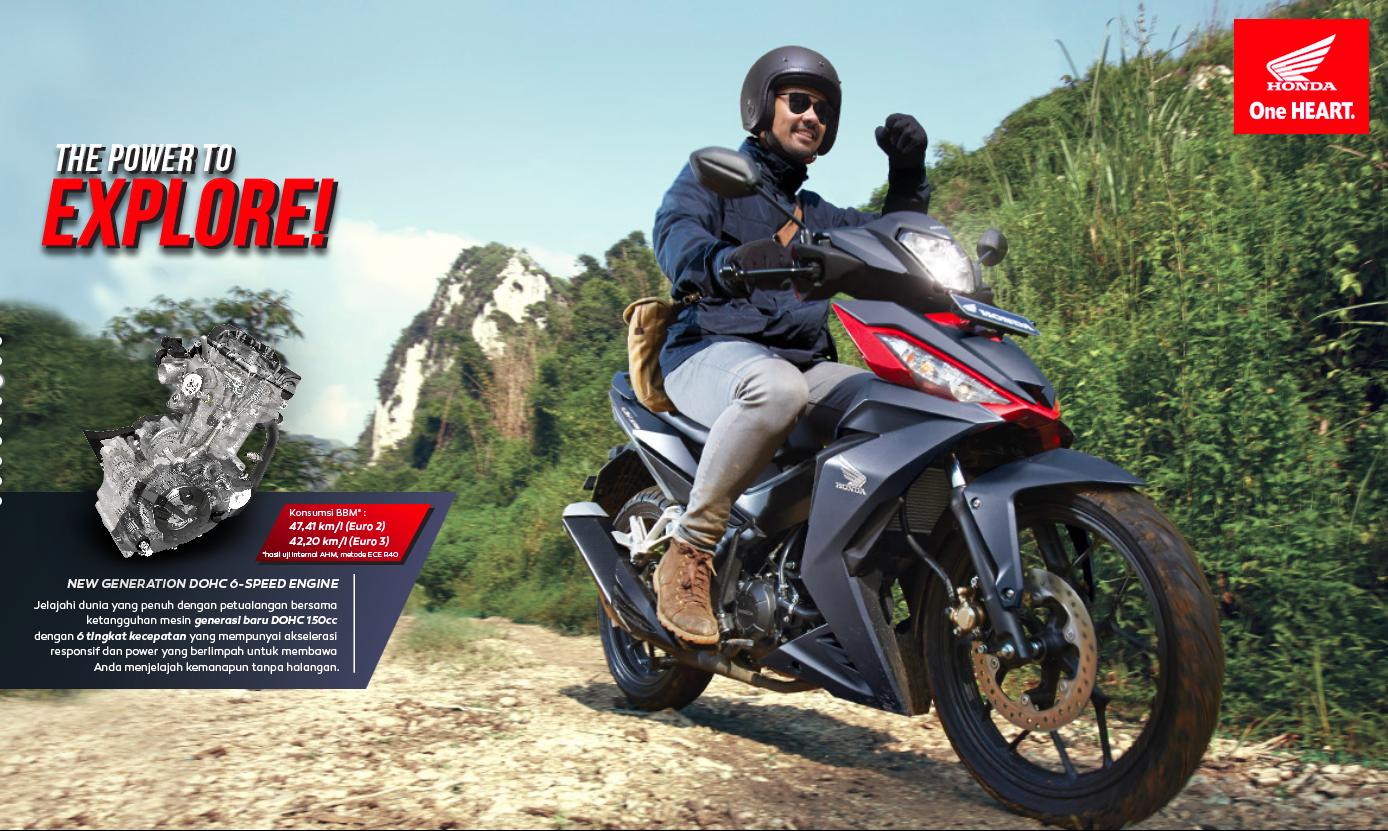 2016 Honda Supra GTR 150 In Indonesia