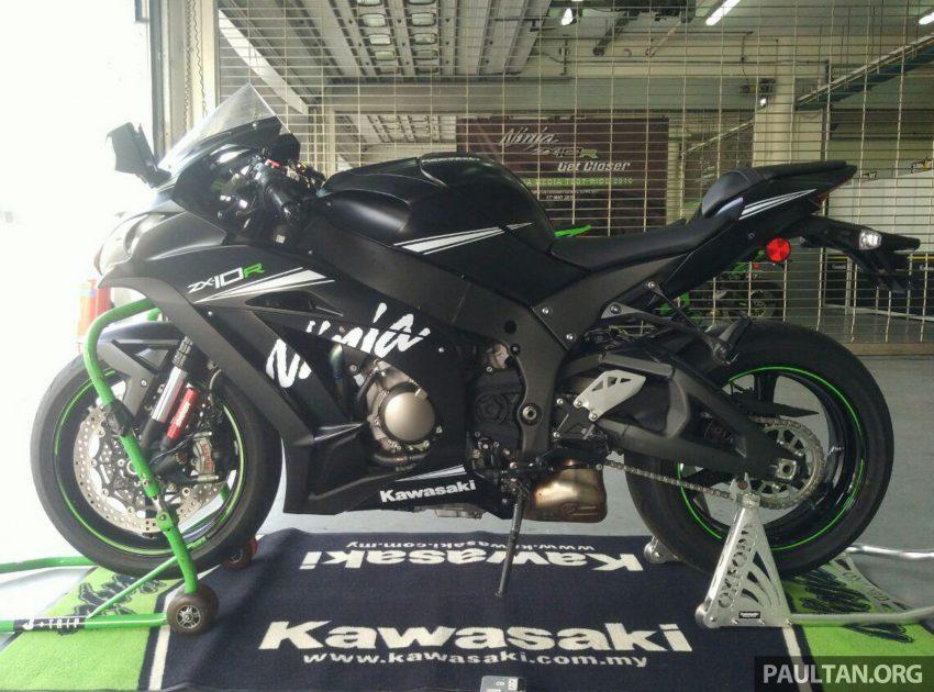 2016 Kawasaki ZX-10R now in Malaysia – RM104,859 Image #494605