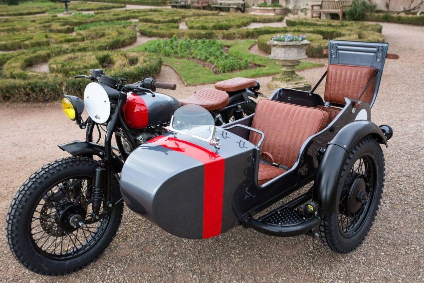Kevil's Speed Shop four-seater Ural sidecar custom Image #493755