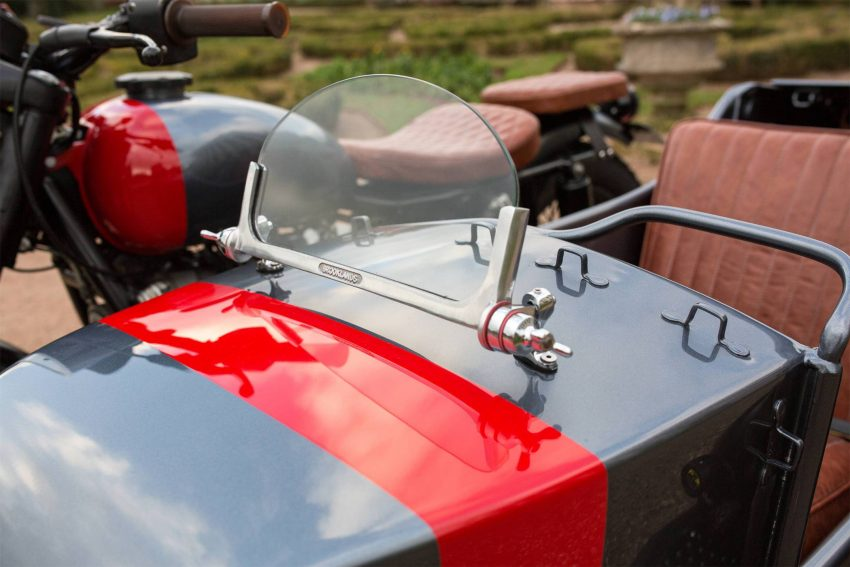 Kevil's Speed Shop four-seater Ural sidecar custom Image #493764