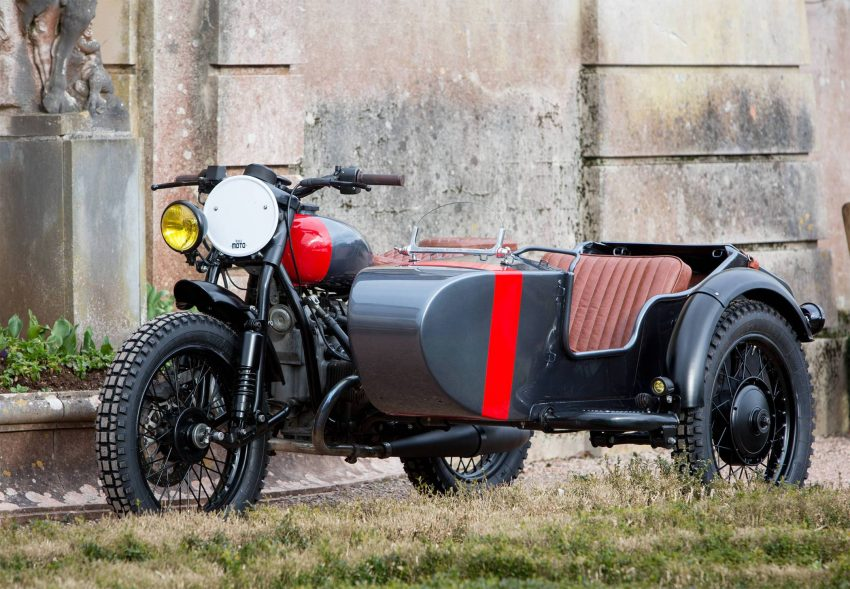 Kevil's Speed Shop four-seater Ural sidecar custom Image #493758