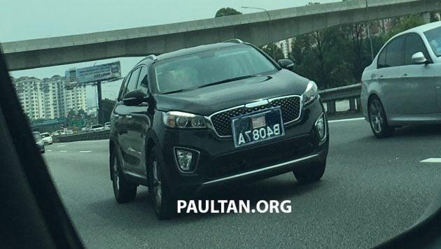 2016 Kia Sorento Malaysia spotted 2
