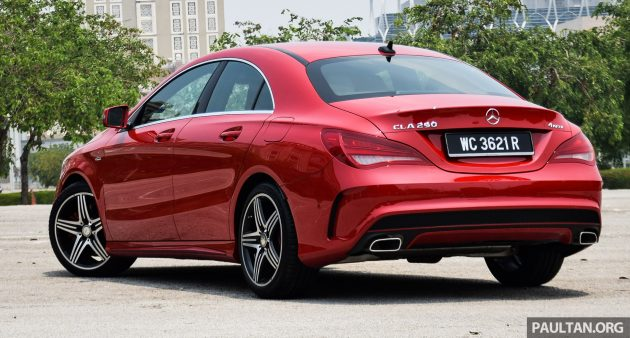 driven mercedes benz cla250 4matic just right. Black Bedroom Furniture Sets. Home Design Ideas