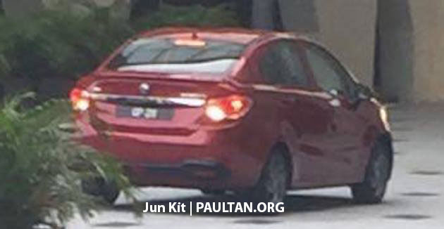 SPIED: 2016 Proton Persona – high spec variant seen Image #494175
