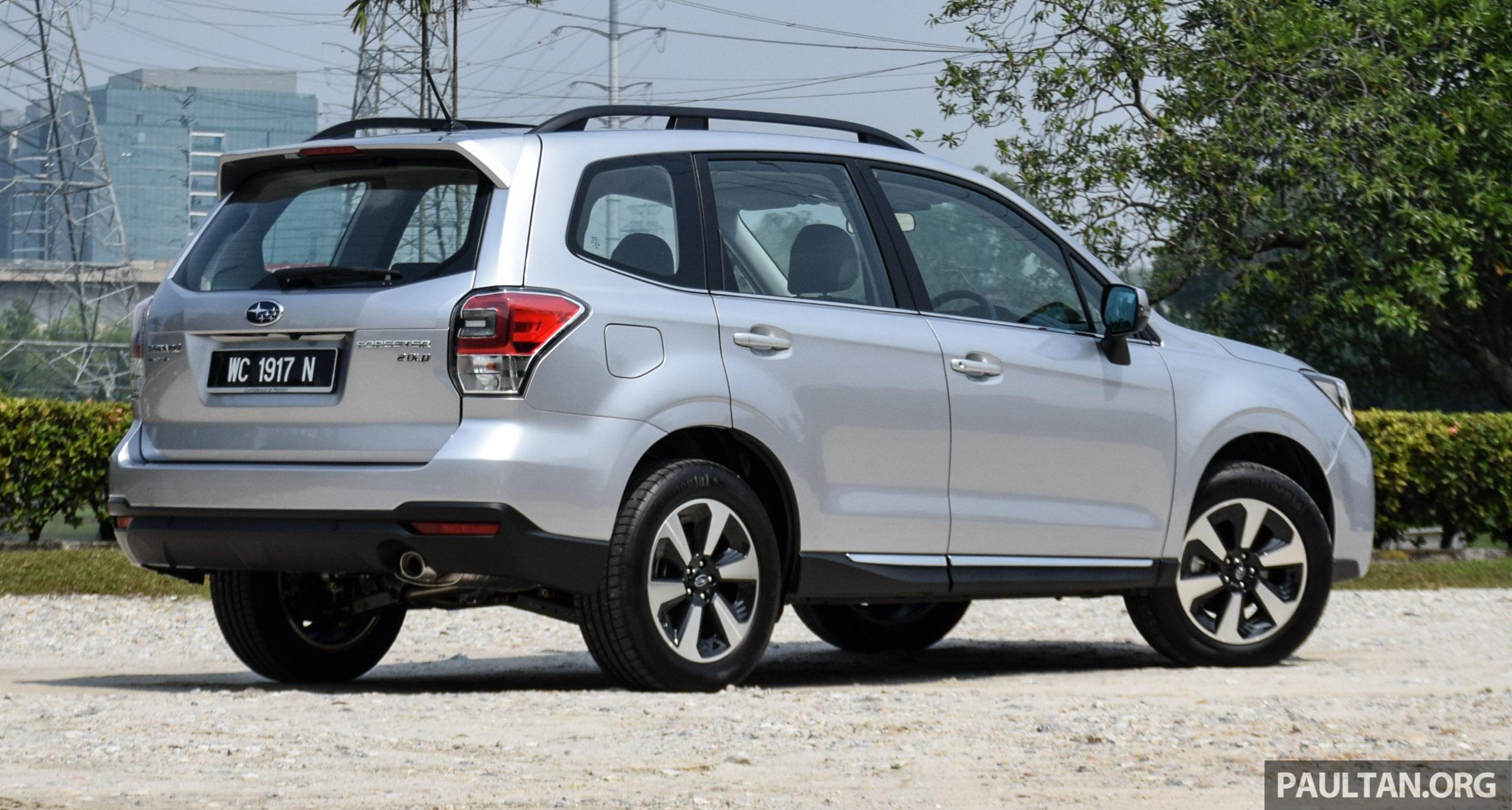 Subaru Forester 2016 >> PANDU UJI: Subaru Forester pilihan yang berbaloi? Image 500793