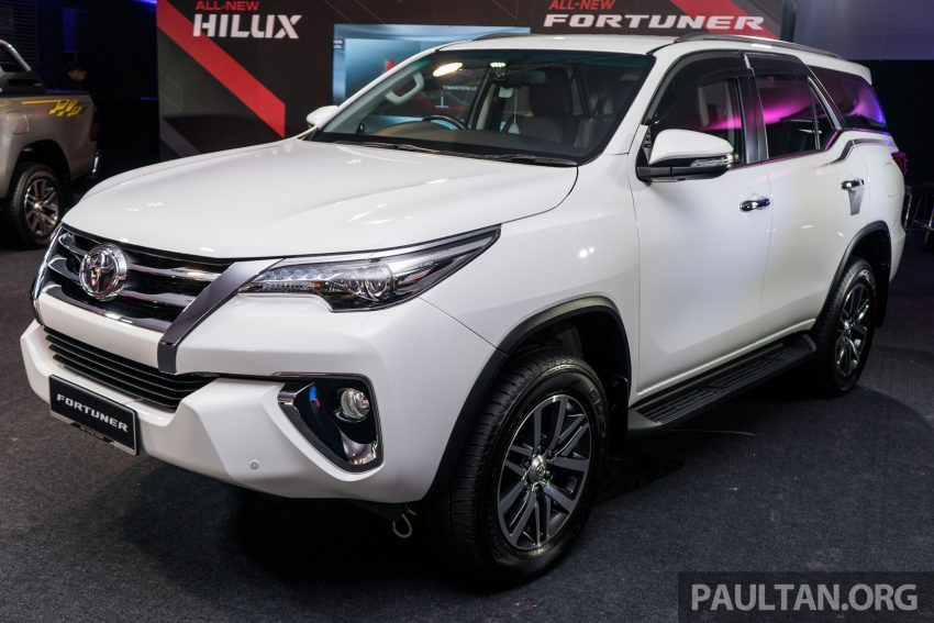 2016 Toyota Fortuner launched in Malaysia – two variants, 2.4L diesel and 2.7L petrol, RM187-200k Image #488102