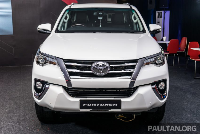 2016 Toyota Fortuner launched in Malaysia – two variants, 2.4L diesel and 2.7L petrol, RM187-200k Image #488104