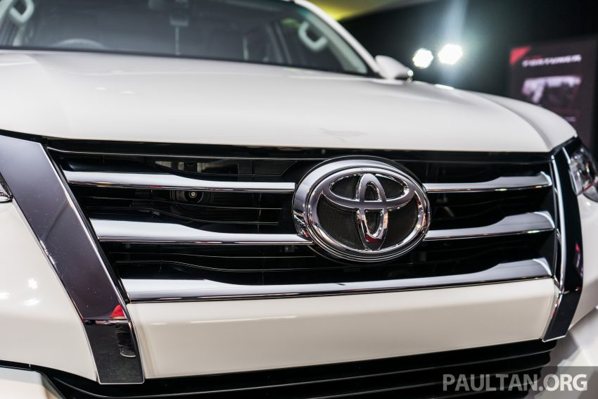 2016 Toyota Fortuner launched in Malaysia – two variants, 2.4L diesel and 2.7L petrol, RM187-200k Image #488110