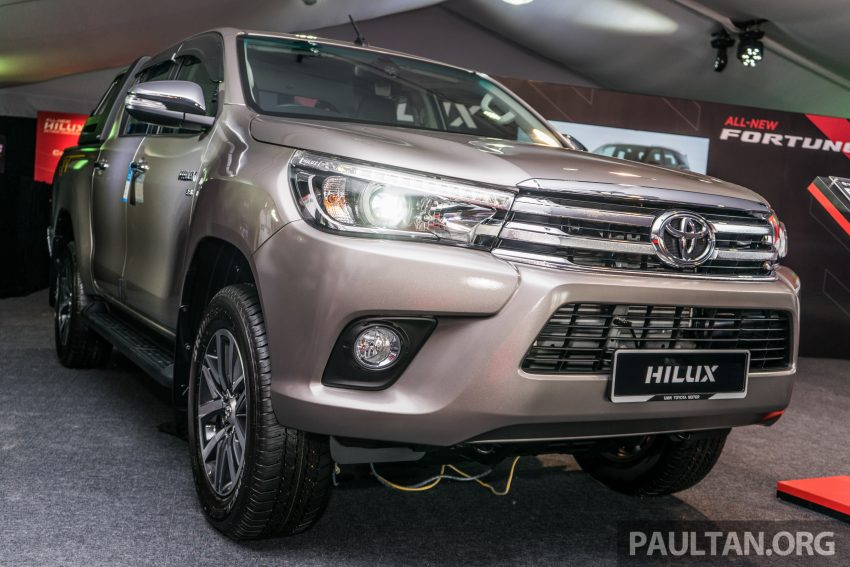2016 Toyota Hilux makes its official debut in Malaysia – six variants, priced from RM90k to RM134k Image #488056