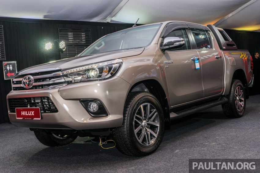 2016 Toyota Hilux makes its official debut in Malaysia – six variants, priced from RM90k to RM134k Image #488057