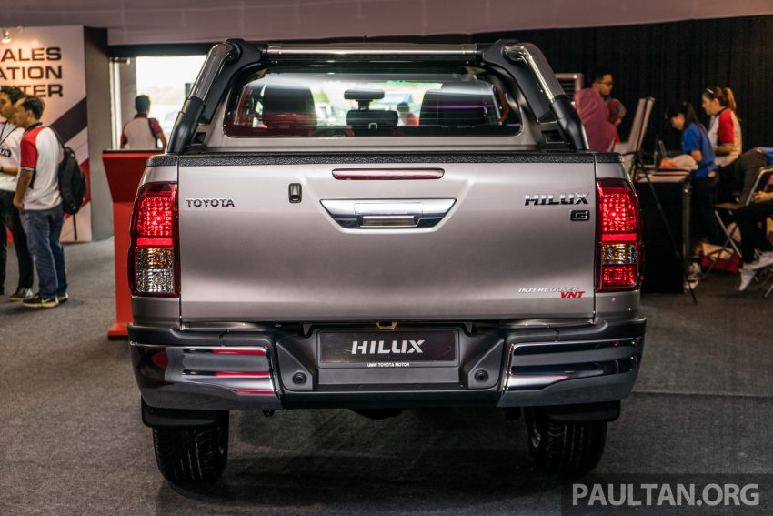 2016 Toyota Hilux makes its official debut in Malaysia – six variants, priced from RM90k to RM134k Image #488060