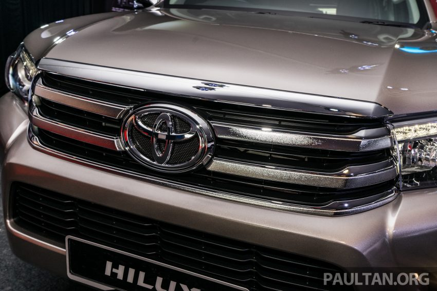 2016 Toyota Hilux makes its official debut in Malaysia – six variants, priced from RM90k to RM134k Image #488063