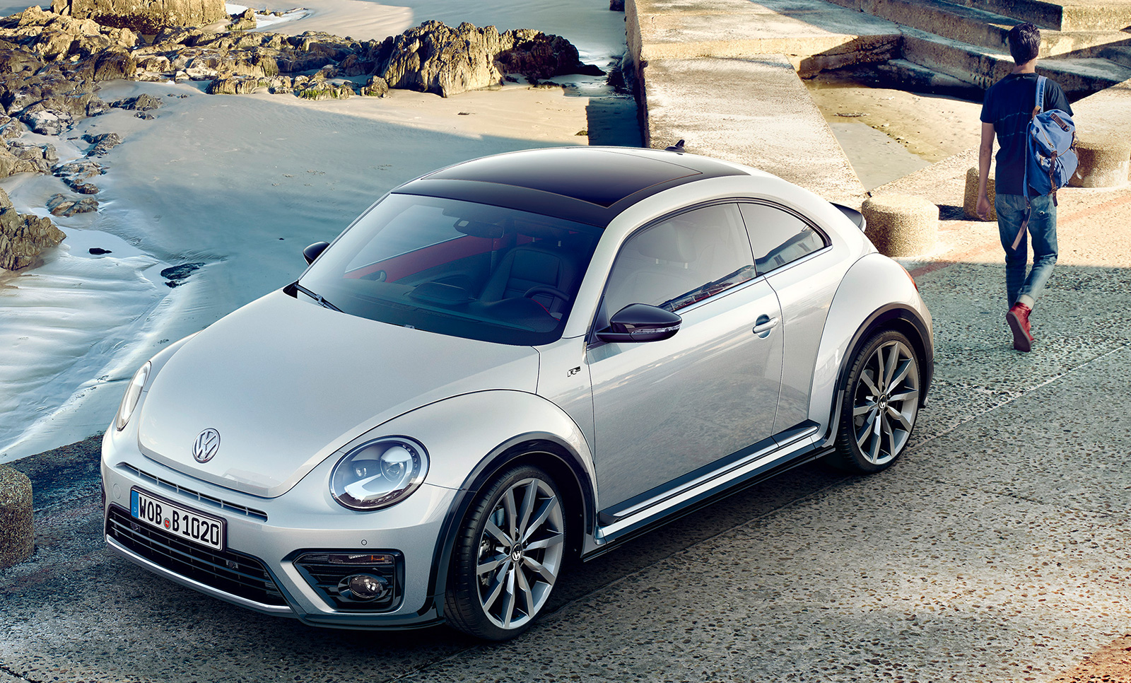 2016 vw beetle bug gets mild update r line trim. Black Bedroom Furniture Sets. Home Design Ideas
