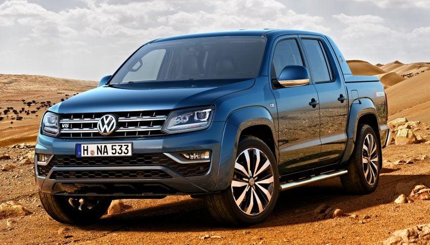 Volkswagen Amarok facelift revealed – new V6 engine Image #486913